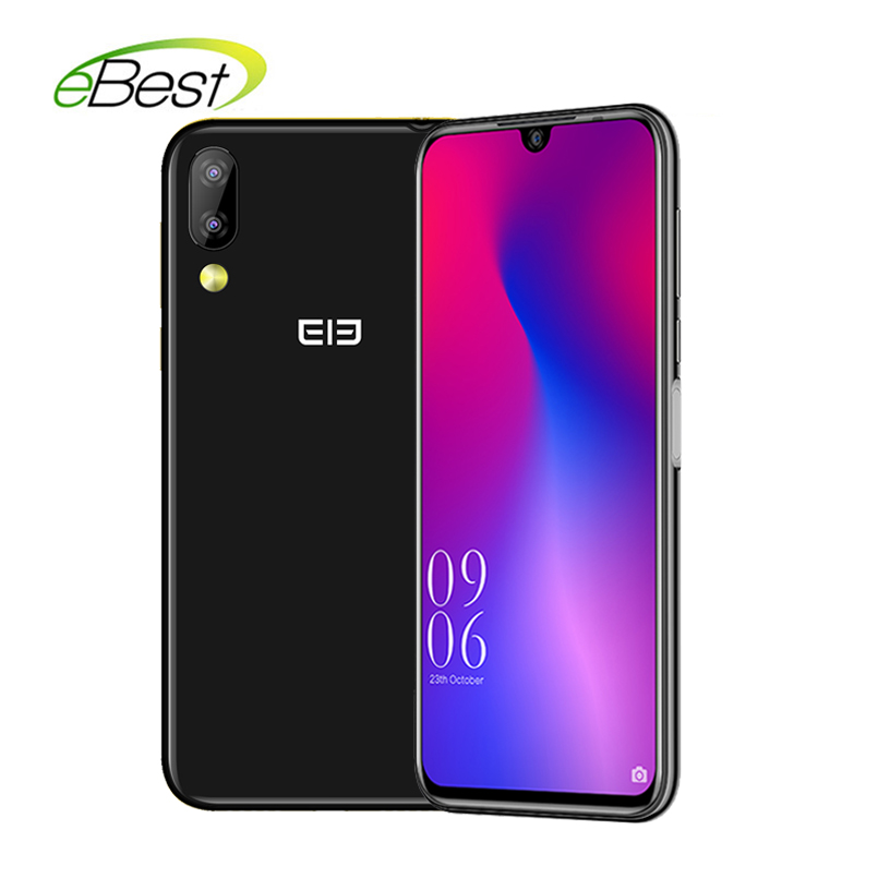 Elephone A6 Mini 5.71 Inch waterdrop Screen Mobile Phone Android 9.0 MT6761 Quad Core HD+ 4GB+32GB 16MP 3180mah 4G Smartphone-in Cellphones from Cellphones & Telecommunications    1