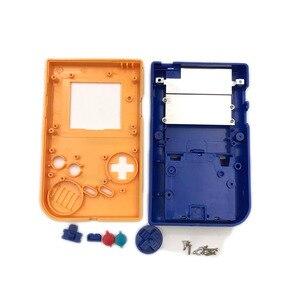 Image 5 - Geel en blauw Game Vervanging Case Plastic Shell Cover voor Nintendo GB voor Gameboy Klassieke Console Case behuizing
