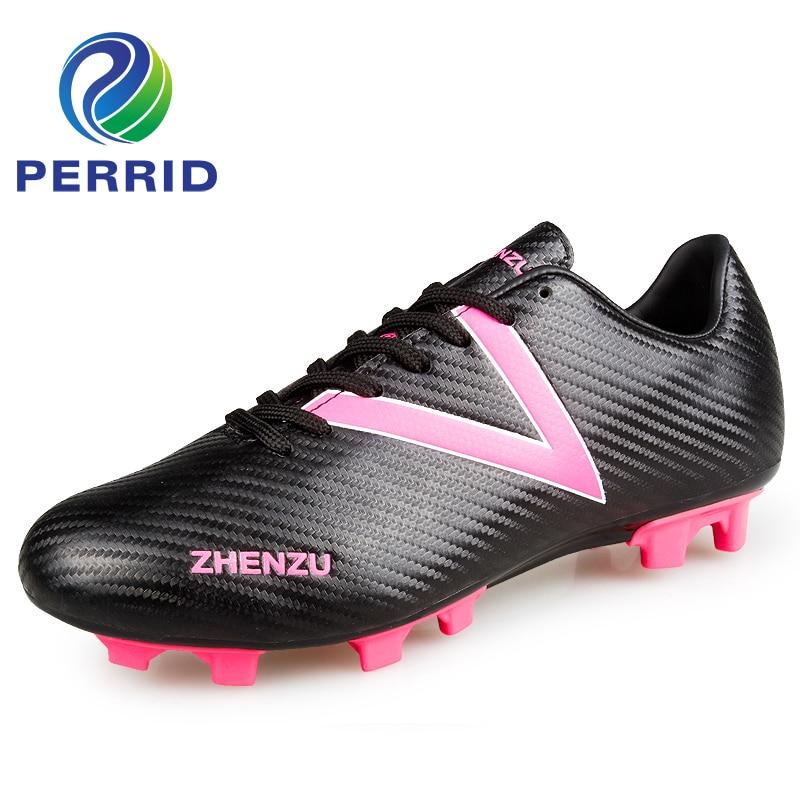 Tobillo botas de fútbol pie vibración hombres fútbol zapatos Soles sólidos  nunca roto uñas botas de fútbol para hombre zapatillas en Zapatos de fútbol  de ... 536a9524f0846