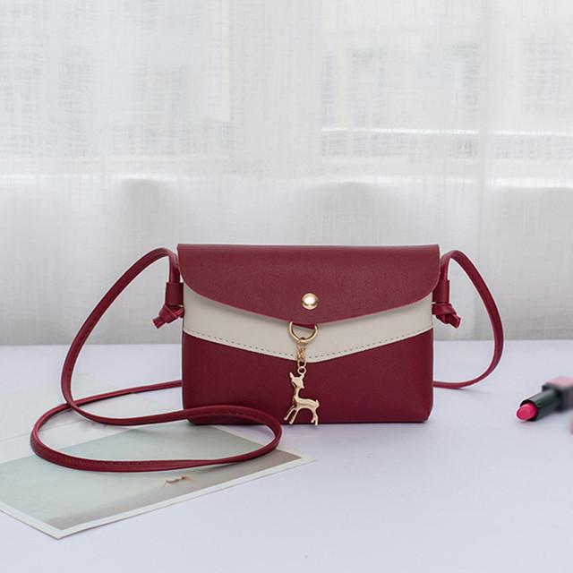 Girls Messenger Bag Fawn Pendant Lady Shoulder Bag Satchel Tote Crossbody Bag for women 2020 bolsa feminina dropshipping A30
