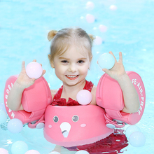 Baby inflatable swimming accessories anti-turning collar baby underarm 0-6 years