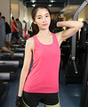 2015 Summer Sexy Women Tank Tops Dry Quick Loose Gym Fitness Sport Sleeveless Vest Singlet for Running Training D093