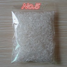 About 1000pcs/bag Child Baby TPU Hair Holders Rubber Bands Elastics Girl's Tie Gum hair-accessories