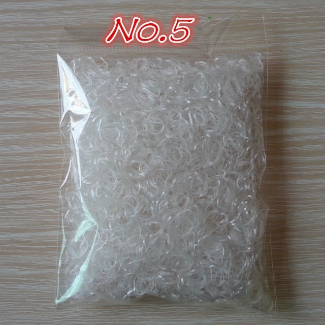1000pcs/bag (small package) TPU Hair Holder Rubber Bands
