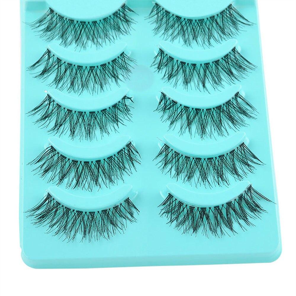 Big sale! 5 Pair/Lot Crisscross False Eyelashes Lashes Voluminous Hot Eye Lashes Women Make up tools Mar 19