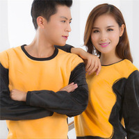 Thermal Underwear And Patch Round Collar Thermal Clothing Suits Men And Women Long Johns