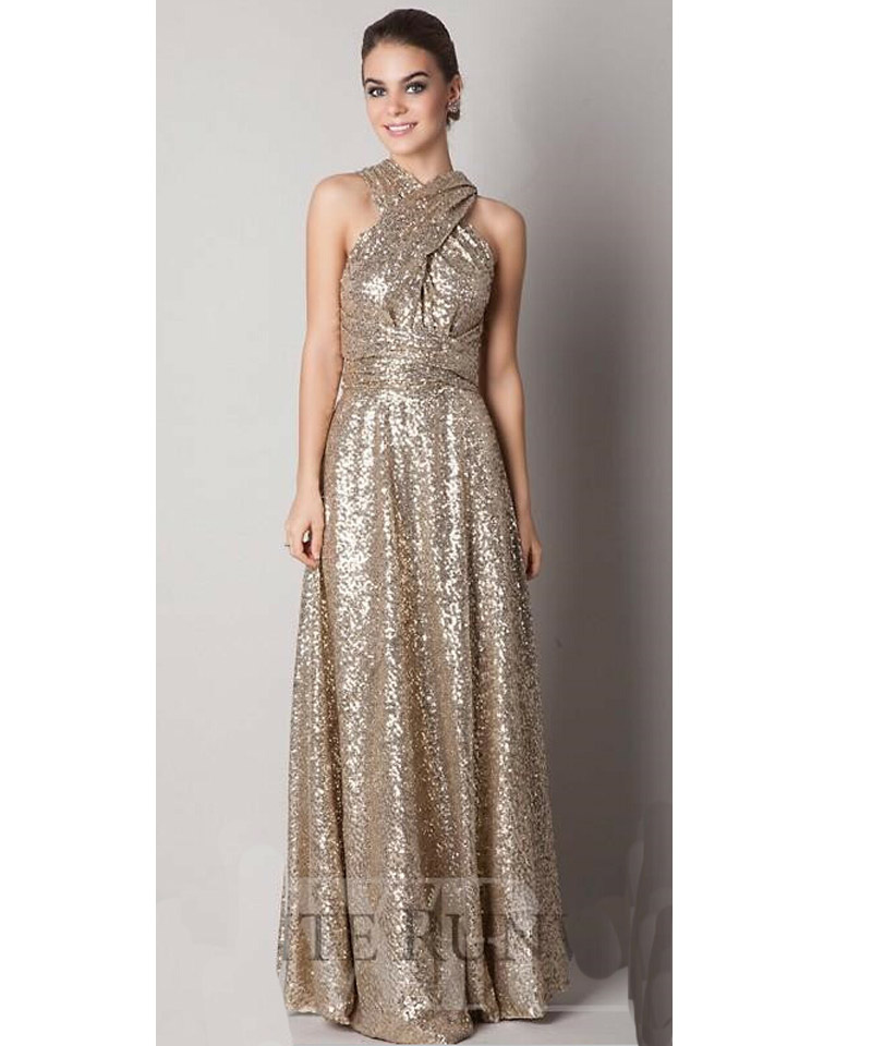 Gold prom dresses under 100