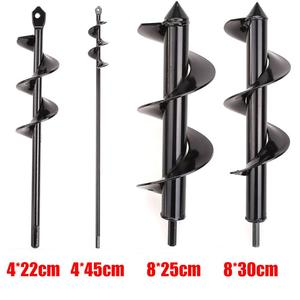 Image 3 - New Earth Drill Ice drill Garden Auger Spiral Drill Machine Bit Flower Planter Auger Yard Gardening Planting Hole Digger Tool