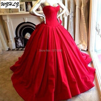 Simple But Elegant Ball Gown Sweetheart Quinceanera Dresses With Ruched Pleat Sleeveless Off The Shoulder Party Dress