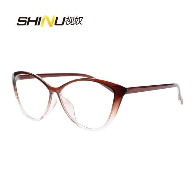 deeeb2b273 placeholder Hot Sale Women Reading Glasses Cat Eye Bifocal Reader  Progressive Multifocal Lens Diopter Eyeglasses For Near