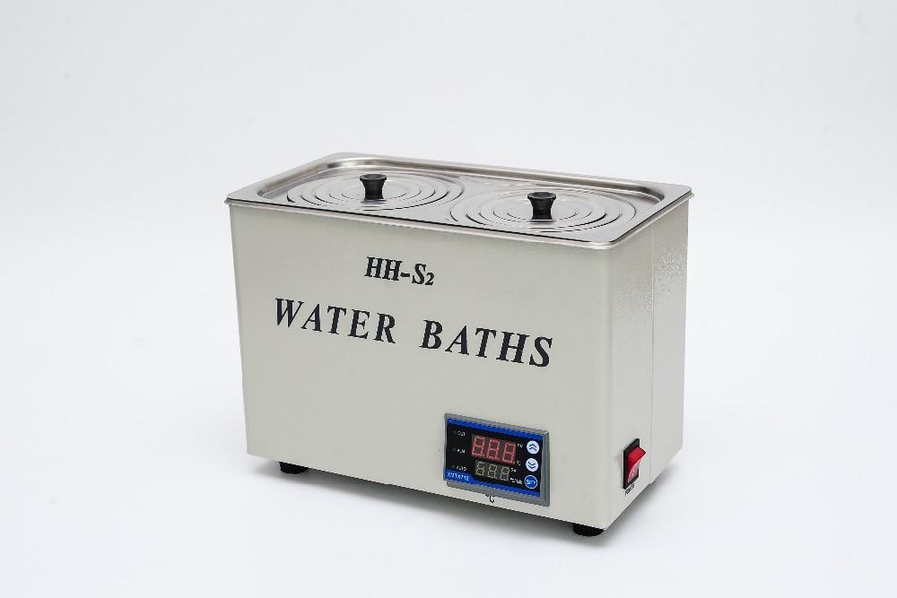 HH-S2  laboratory Digital Water Bath  Double Hole Constant Temperature 220V, 0~99.9 degree,500WHH-S2  laboratory Digital Water Bath  Double Hole Constant Temperature 220V, 0~99.9 degree,500W