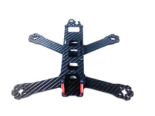 Drone Frame Carbon Fiber 210 250 Frame QAV210 250 Mini Quadcopter Drone Racing Crossing Frame with motor Protection Seat