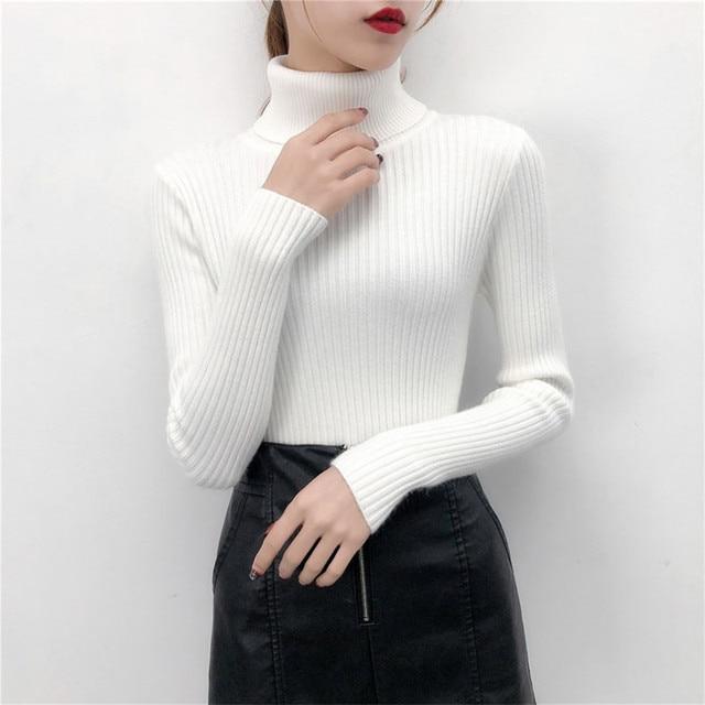 Turtleneck female Sweater  1