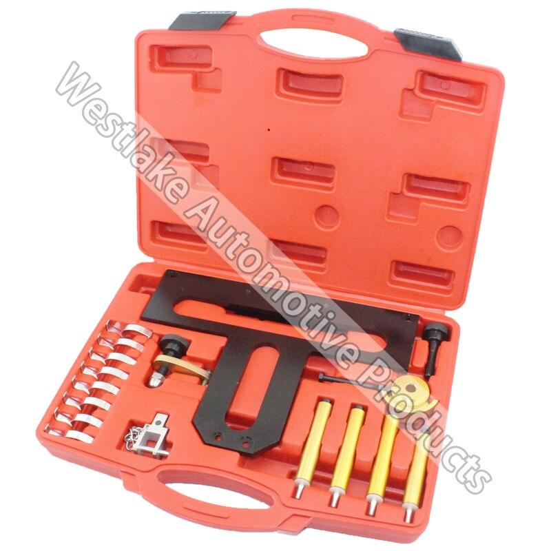 Kit d'outils de verrouillage de distribution de moteur à essence pour BMW N42 N46 volant de vilebrequin A3184