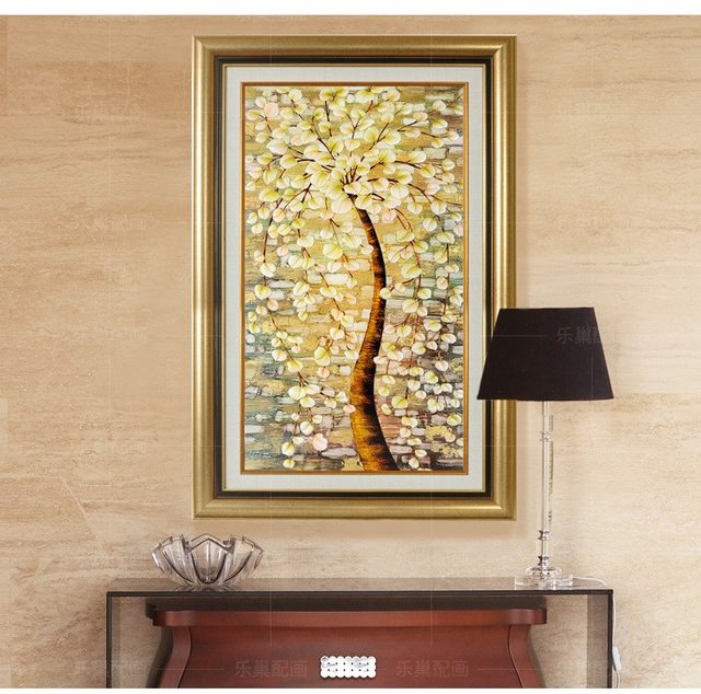 Online Shop Italy style famous canvas oil painting Puchu tree wall ...