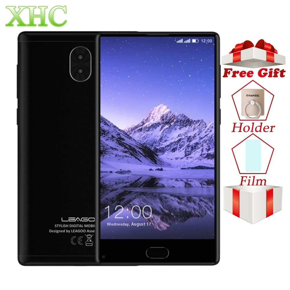 LEAGOO kiicaa смешивания 4G мобильный телефон двойной 13MP камер Android 7,0 телефона Восьмиядерный MTK6750T 3 ГБ + 32 ГБ 5,5 две сим-карты смартфонов