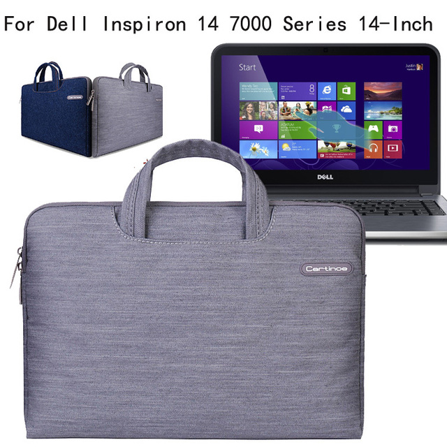 Marca 2016 Bolsa Para Laptop Saco do Caderno de 13.3 polegada Luva Do Computador caso para dell inspiron 13 série saco das mulheres dos homens pasta bolsa