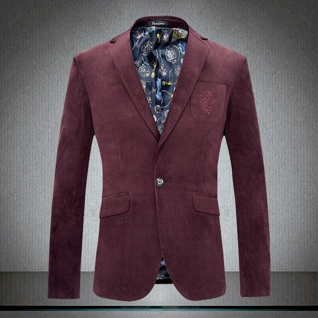 Новый 2017 мужская мода бутик высокого класса тонкий деловые костюмы Пиджаки/Британский стиль Мужской досуг костюм пальто