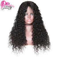 1e866b5a5 BeautyForever 360 Lace Front Wigs Half Hand Tied Malaysian Water Wave Hair  100% Remy Human