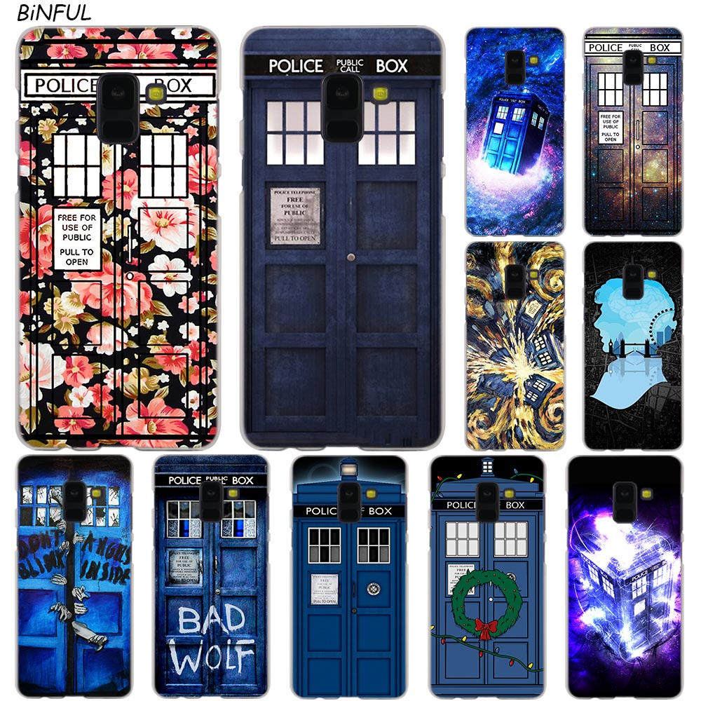 Cellphones & Telecommunications Phone Case Cover Tardis Box Doctor Who For Samsung Galaxy J3 J5 J7 2016 2017 A5 A6 A8 Plus 2018 Note 8 9 Cases Phone Bags & Cases