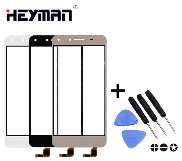 Touchscreen for Huawei Honor 5, Honor Play 5, Y5 II CUN-TL00 LYO-L21 Digitizer Glass Panel Front Glass Lens Sensor Replacement