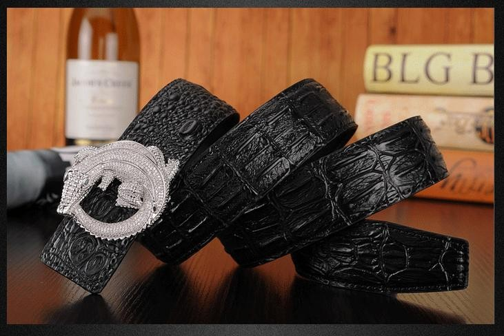 2017 Mens Belts Black Luxury Benz Automatic Buckle Genuine Leather Belt Ceinture