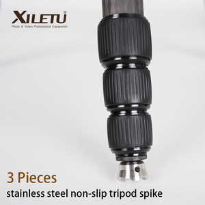 Image 1 - 3 Pieces XILETU XDS 3W 3/8 inch Non slip Stainless steel Tripod Spike For Manfrotto Gitzo RRS SIRUI BENRO