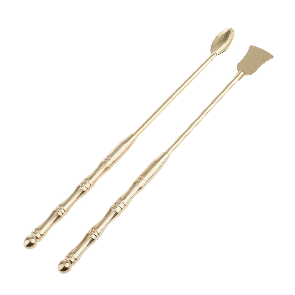 Incense Tool Brass Spoon Incense Equipment Copper Spoon and Shovel