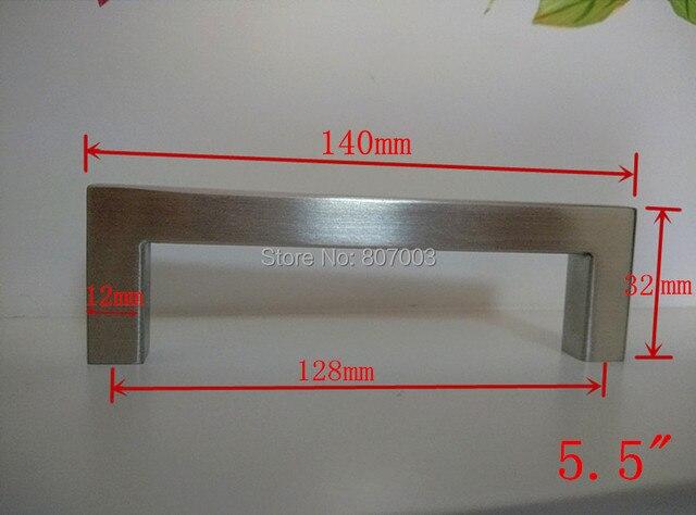 Lengte mm mm vierkante bar deurklink rvs keuken deur