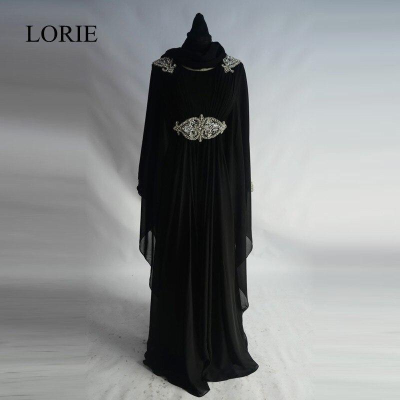 Черное платье хиджаб