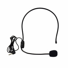 Microphone Vocal Wired Headset microfono For Voice Amplifier Speaker Mike