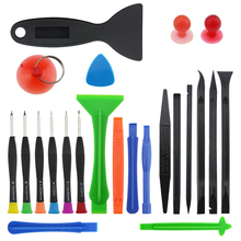 UANME 23in 1 Plastic Pry Precision Screwdriver Set For Cell Mobile Phone Samsung Tablet PC Laptop Repair Multi Opening Tools Kit