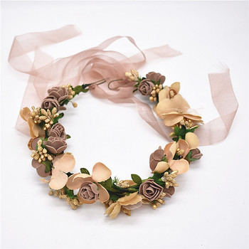 2018 Lanxxy hot new fashion accessories sold  hair bands hair women Wedding Flower Headband crown tiaras Hairbands bride Girls Accessories