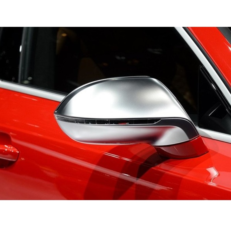 For Audi A7 S7 Type 4G8 Matt Chromed Rear View Mirror Side Door Mirror Wing Mirror Cover Replacement Car Accessories