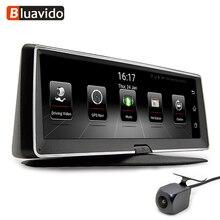 Bluavido 8 дюймов 4 г Автомобильный dvr камера gps FHD 1080 P Android навигации ADAS ночное видение регистраторы видео регистраторы удаленного Live мониторы