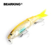 8.8cm 7.2g Bearking New 1PC New Arrival Hot Sale Minnow Hard Fishing Lure 2017 hot Fishing Tackle Artificial Lures Bait
