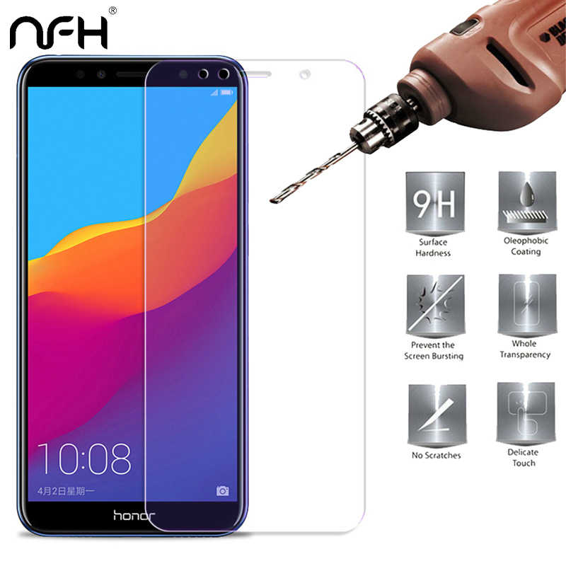 9H premium Tempered Glass for Huawei Y6 prime Y5 2018 Screen Protector for Huawei On Honor 7A Pro DUA-L22 Protective Glass film