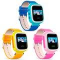 Rastreador sos chamada crianças smart watch para android ios iphone anti-perdido gps novo