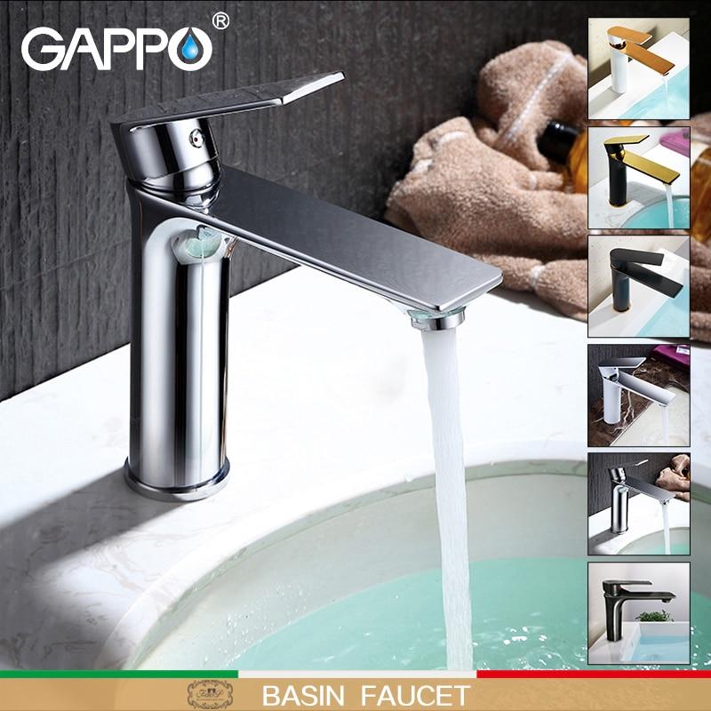 GAPPO basin faucet sink bathroom waterfall deck mounted tap faucets mixer tap faucet bathroom faucets