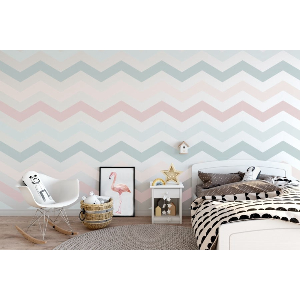 Yeele Photographic Backdrops Baby Bedroom Wavy Stripes Wall Furniture Decoration Photography Backgrounds For the Photo Studio in Background from Consumer Electronics