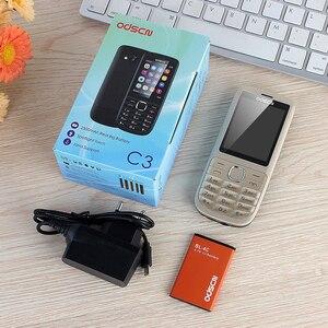 Image 5 - C3 الأجنبية 2.4 بوصة ال WhatsAPP المزدوجة بطاقة مفتاح أربعة الموجات الهاتف المحمول