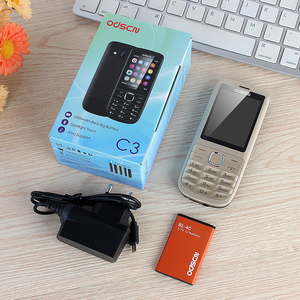 Image 5 - Téléphone portable double clé à quatre bandes avec double carte WhatsAPP étrangère C3 2.4 pouces