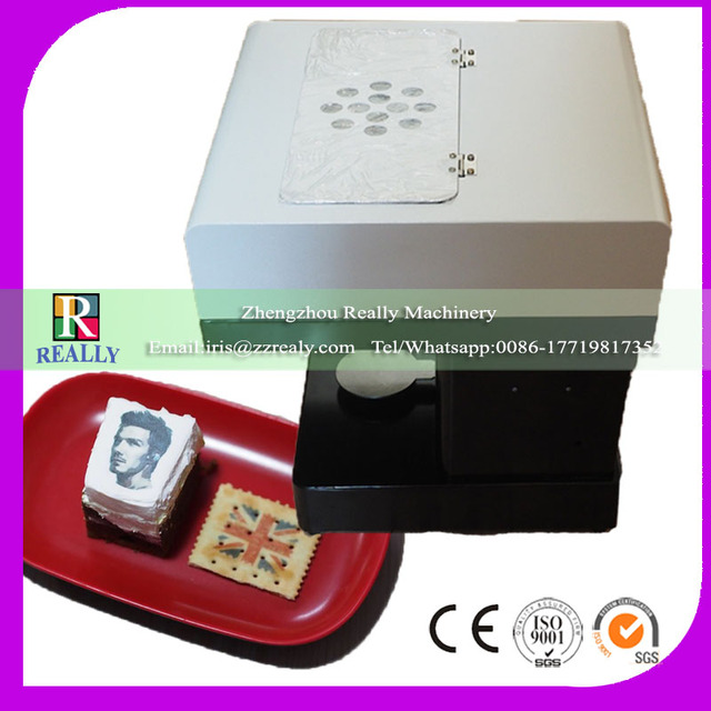 The Latte Art Coffee Printer with food coloring printer ink ...