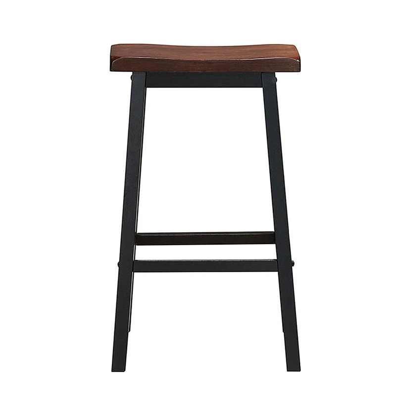 "29 ""H ダイニングルームセット 2 のバースツールパブ椅子モダンでエレガントなデザインの快適なリビング高品質バー椅子家具 HW58979"
