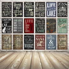 [ Kelly66 ] Beer Whisky Metal Sign Tin Poster Home Decor Bar Wall Art Painting 20*30 CM Size Dy13