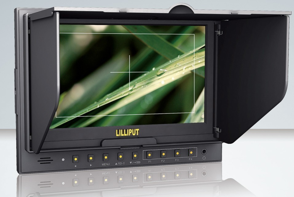 Lilliput 5D-II/O 7 Inch LCD HD 1080P Field Monitor with HDMI Input & Output 16:9 for Canon 5D Mark II DSLR Camera Free Fedex
