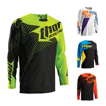 2019 MOTO GP Thor Downhill Jerseys Breathable Clothing Bmx Moto Gp Off-road Man Race Motocross Motorcycle Riding Team Dh Shirt AG2R La Mondiale 2019