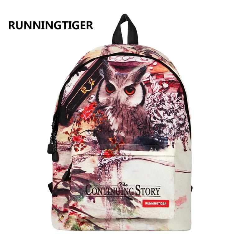 backpack women  mochila feminina mochila escolar printing backpack small cat laptop backpack mochilas mujer 2016  travel mochila