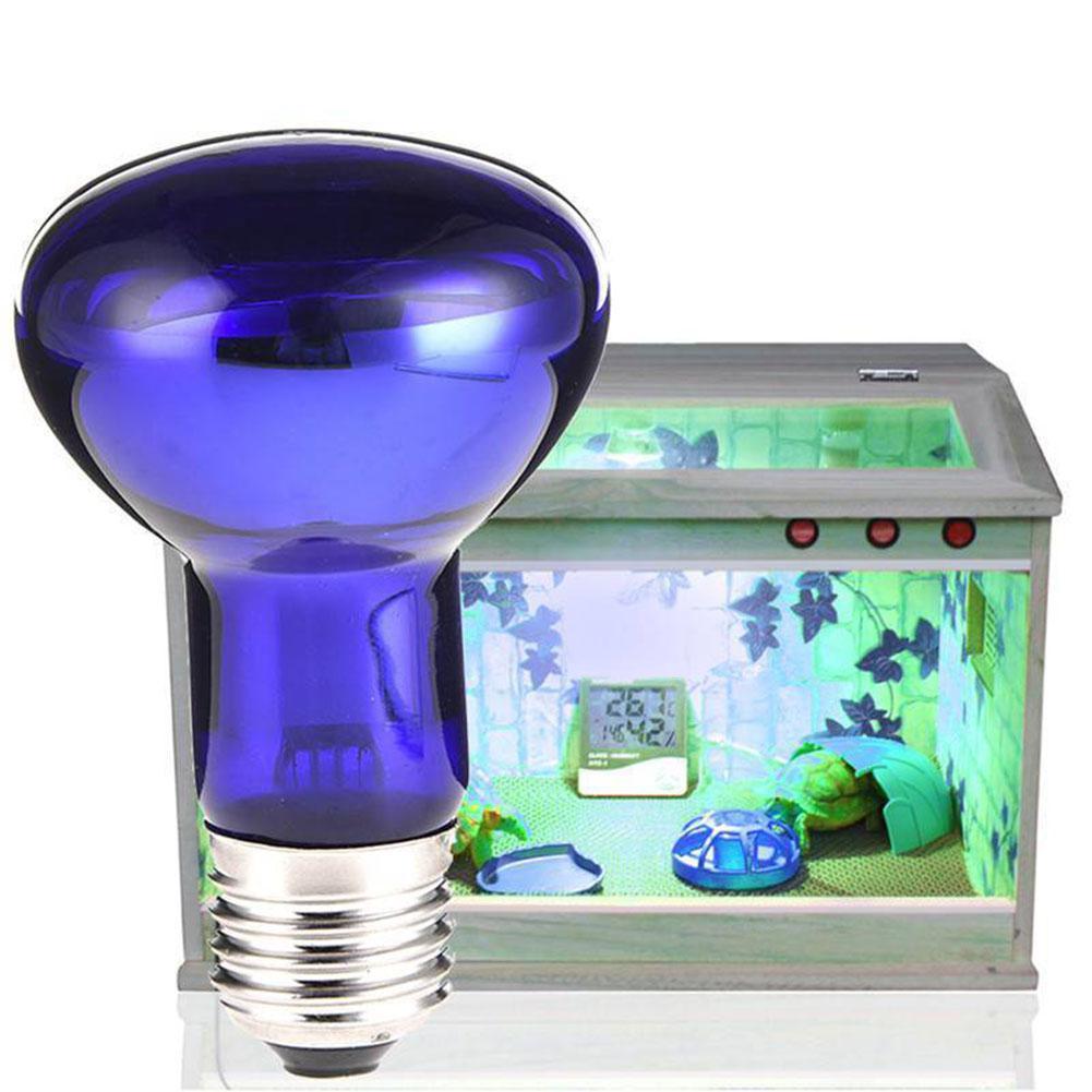 1PC Fluorescent Reptile Heat Basking Lamp Light Bulb for Vivarium Terrarium UV Tube 25W/50W/75W/100W