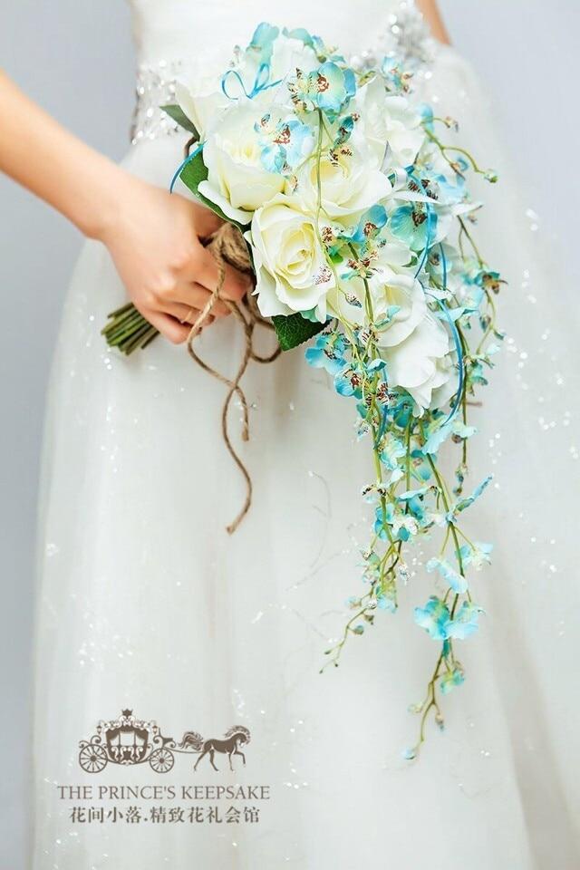 Cost Of Wedding Flowers 2017 : Popular wedding brooch bouquet buy cheap